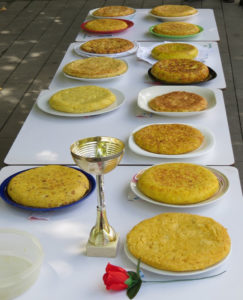 Spanish tortilla – Spanish identity is closely associated with the food