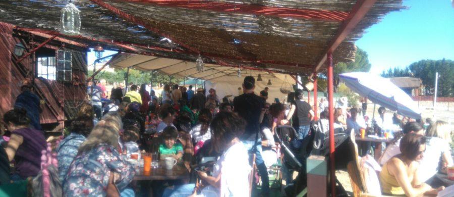 Nómadas Solidarios mini music festival